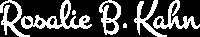 Rosalie B. Kahn | Writer, Healer, Teacher logo